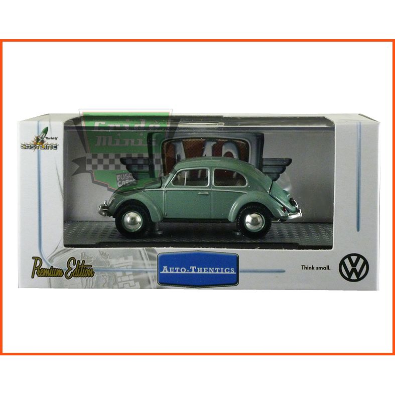 M2 Fusca - VW Beetle Deluxe  Europen Model 1953 - escala 1/64