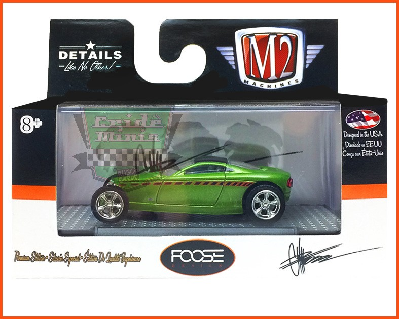 "M2 HEMISFEAR ""Preproduction Car 1"" FOOSE Mod. RARO 3.800 peças no Mundo - escala 1/64"