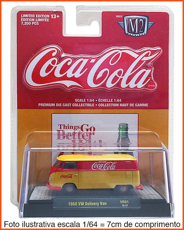 M2 Kombi Coca-Cola 1960 EDIÇÃO COLECIONADOR 7.200 unid.- escala 1/64