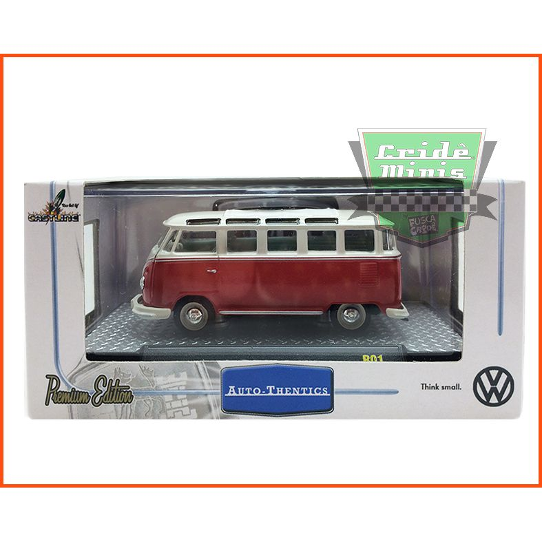 M2 kombi - VW Microbus Deluxe European Model 1960 - escala 1/64