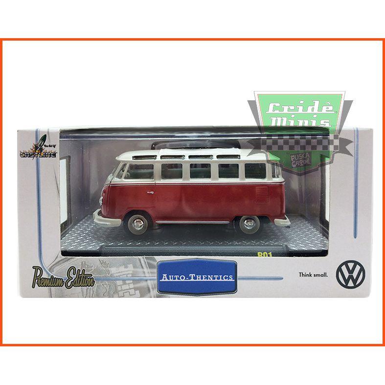 M2 kombi - VW Microbus Deluxe European Model 1960 - escala 1/64