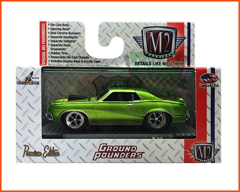 M2 Mercury Cougar ELIMINATOR - Premium Edition 5.000 unid. - escala 1/64