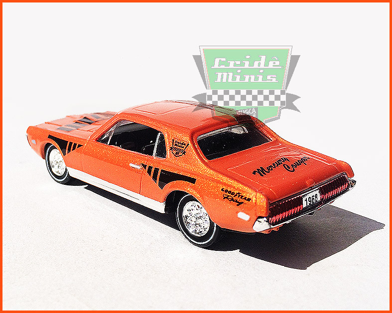 M2 Mercury Cougar XR-7 1968 - Customizado - escala 1/64