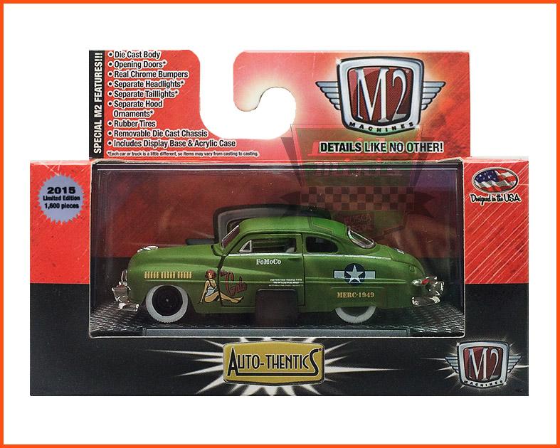M2 Mercury Custom 1949 - Premium Edition 1.600 unid. - Especial MJToys - escala 1/64
