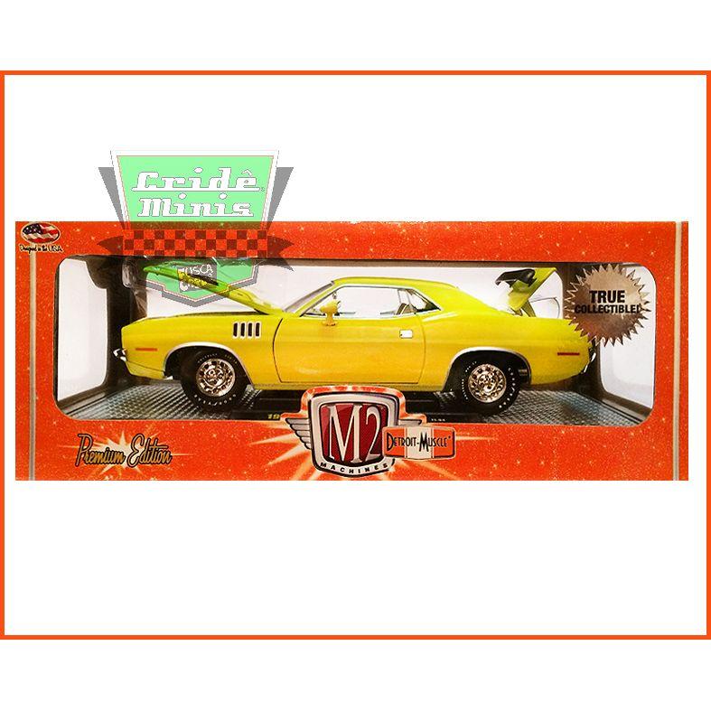 M2 Plymouth Cuda 383 1971 Modelo Raro escala 1/24