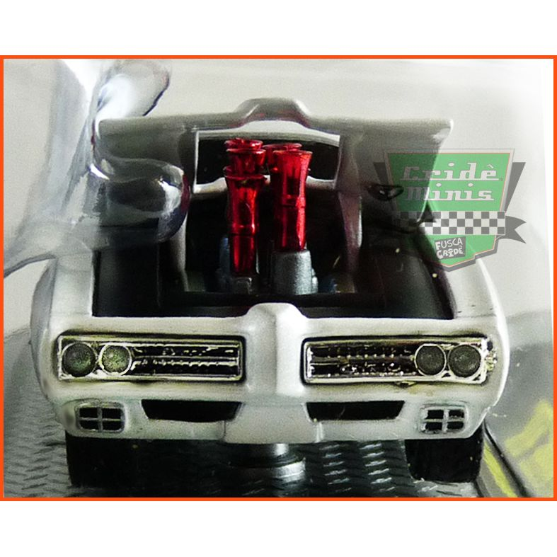 M2 Pontiac GTO 1969 modelo RARO - escala 1/64