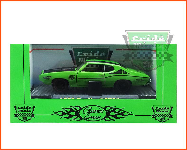 M2 Pontiac GTO 1969 10 dias de produção - escala 1/64