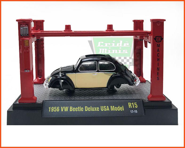 M2 VW Fusca De Luxe USA 1956 - 5.880 unidades - escala 1/64