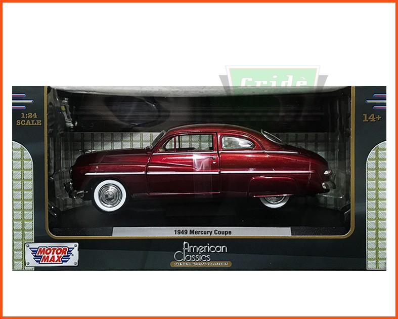 Mercury 1949 Classic com caixa expositora e base - Escala 1/24