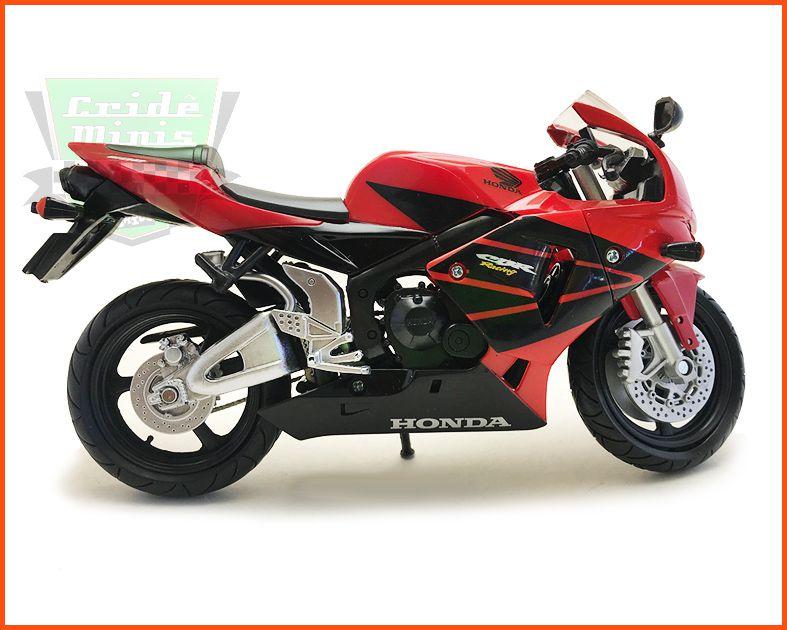 Moto Honda CBR600R - escala 1/12