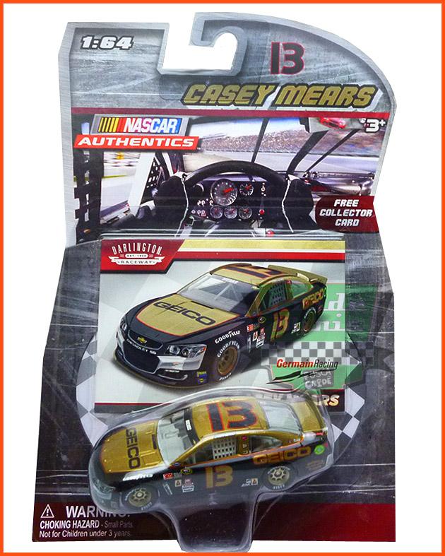 Nascar Chevrolet SS 2016 Casey Mears #13 GEICO- escala 1/64