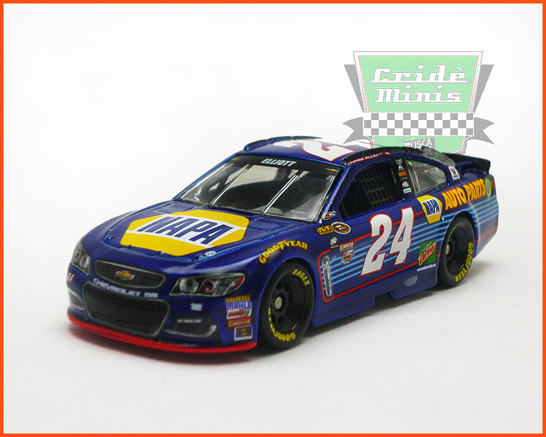 Nascar Chevrolet SS 2016 Chase Elliott #24 AUTO PARTS - escala 1/64