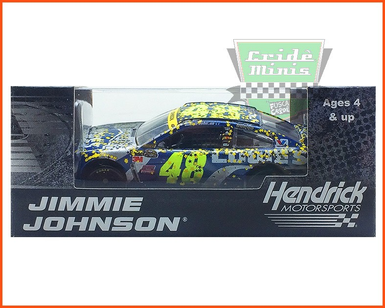Nascar Chevrolet SS 2016 Jimmie Johnson #48 HOMESTEAD WIN - escala 1/64