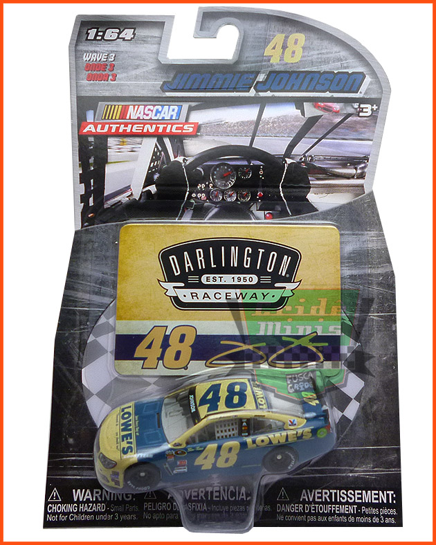 Nascar Chevrolet SS 2016 Jimmie Johnson #48 LOWES escala 1/64 - CAMPEÃO de 2016