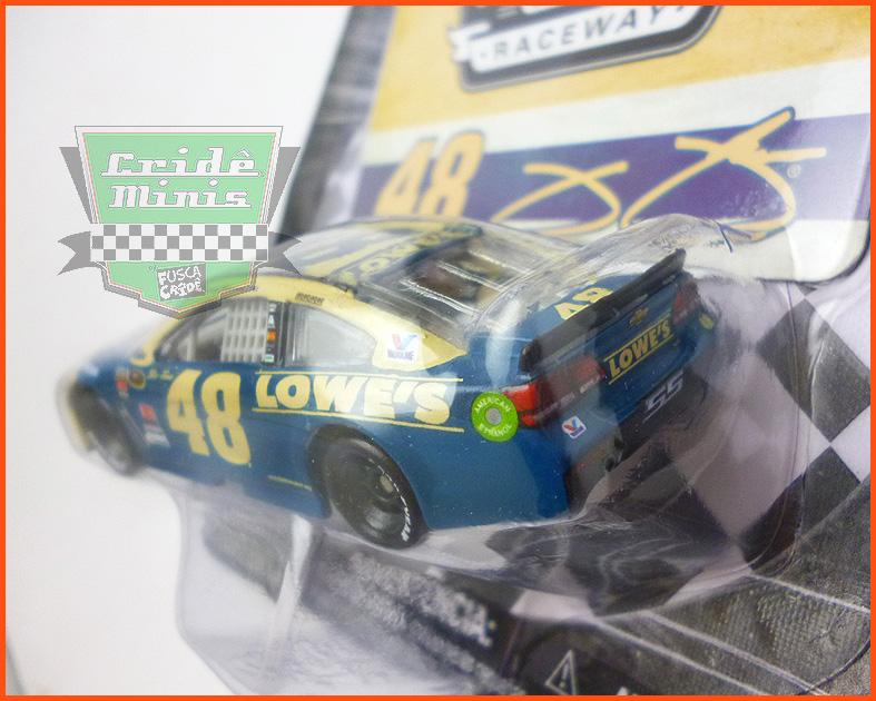 Nascar Chevrolet SS 2016 Jimmie Johnson #48 LOWES escala 1/64 - CAMPEÃO de 2016