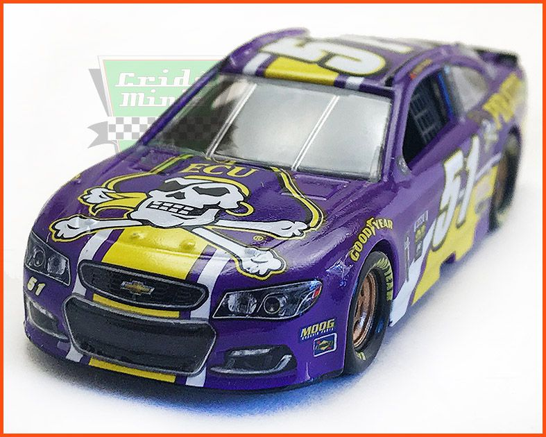 Nascar Chevrolet SS 2017 Cody Ware #51 PIRATES - escala 1/64