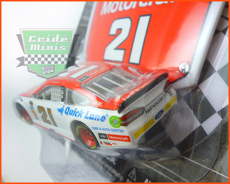 Nascar Ford Fusion 2016 Ryan Blaney MOTORCRAFT- escala 1/64