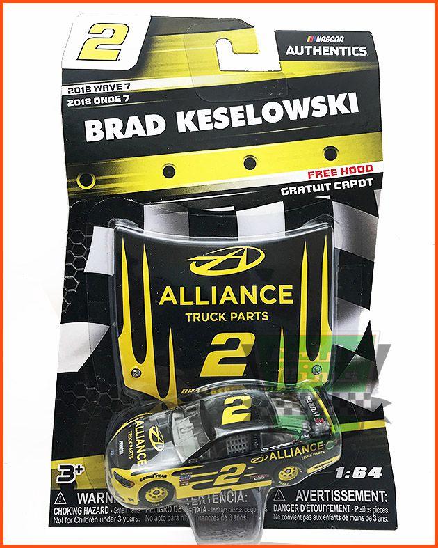 Nascar Ford Fusion 2018 Brad Keselowsk #2 escala 1/64