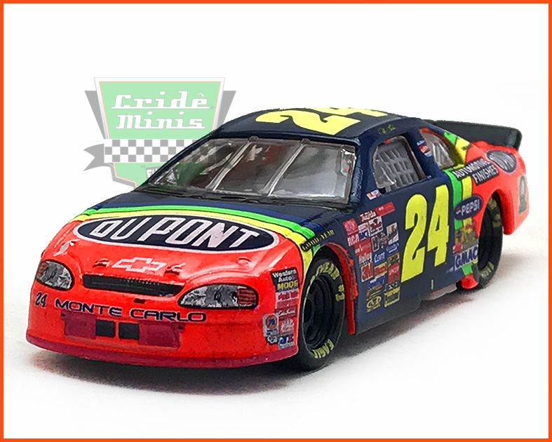 Nascar Impala 1997 Jeff Gordon #24 - escala 1/64