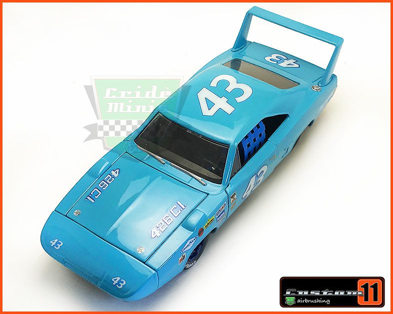 Nascar Plymouth #43 1970 CUSTOMIZADO - escala 1/24