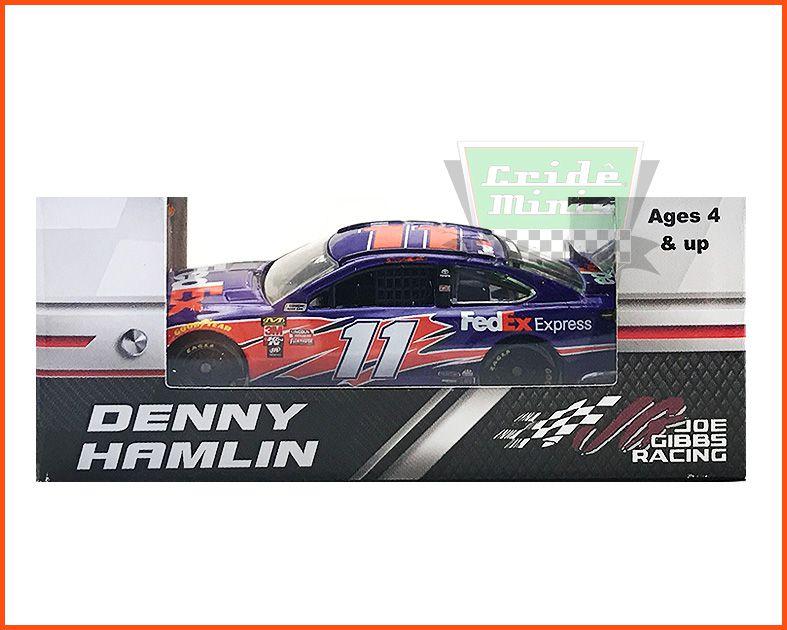 Nascar Toyota Camry 2018 Denny Hamlin #11 FedEx - escala 1/64