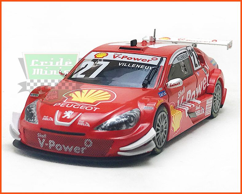 Peugeot 408 Stock Car #27 - Jacques Villeneuve - escala 1/43
