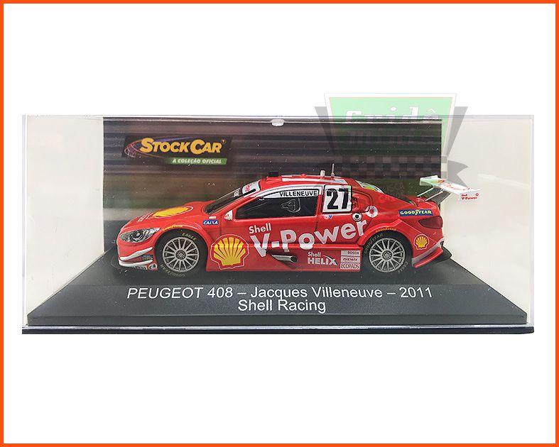 Peugeot 408 Stock Car #27 - Jacques Villeneuve - escala 1/43