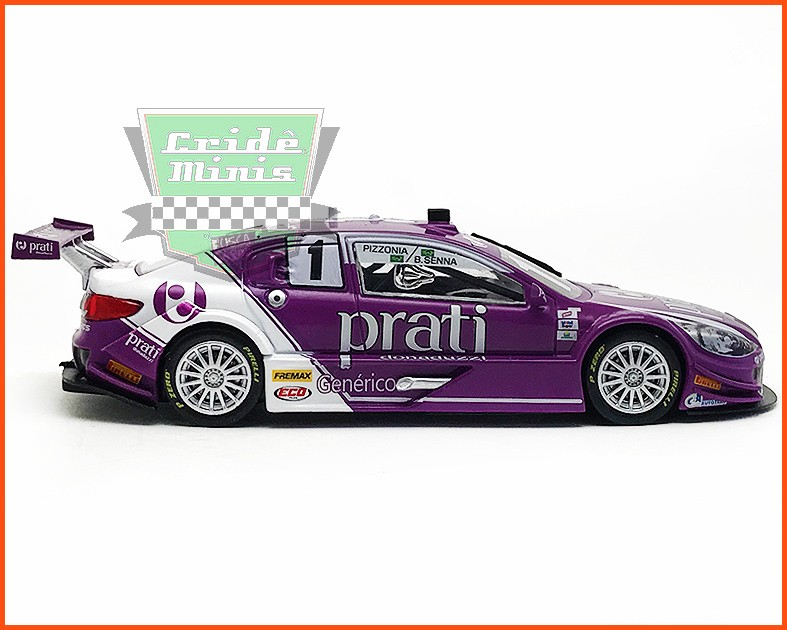 Peugeot Stock Car #1 - Bruno Senna/Antonio Pizzonia 2015 - escala 1/43
