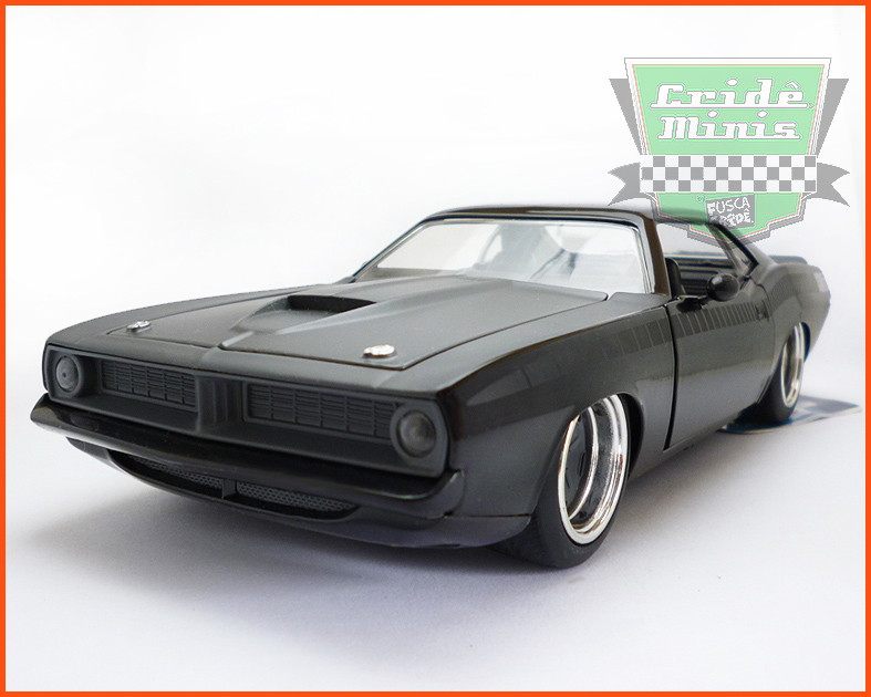 Plymouth Barracuda 1973 - Velozes & Furiosos - escala 1/24