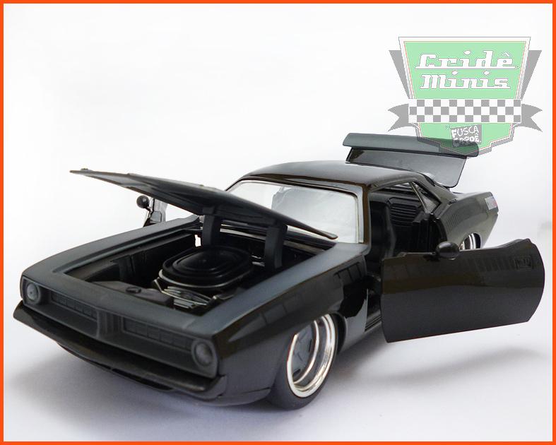 Plymouth Barracuda 1973 - Velozes & Furiosos - escala 1/24