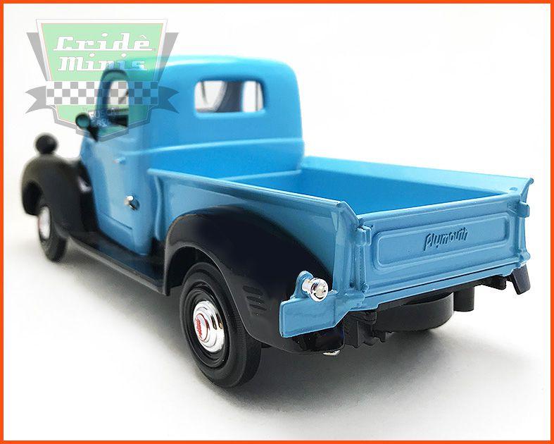 Plymouth Truck 1941 azul - escala 1/24