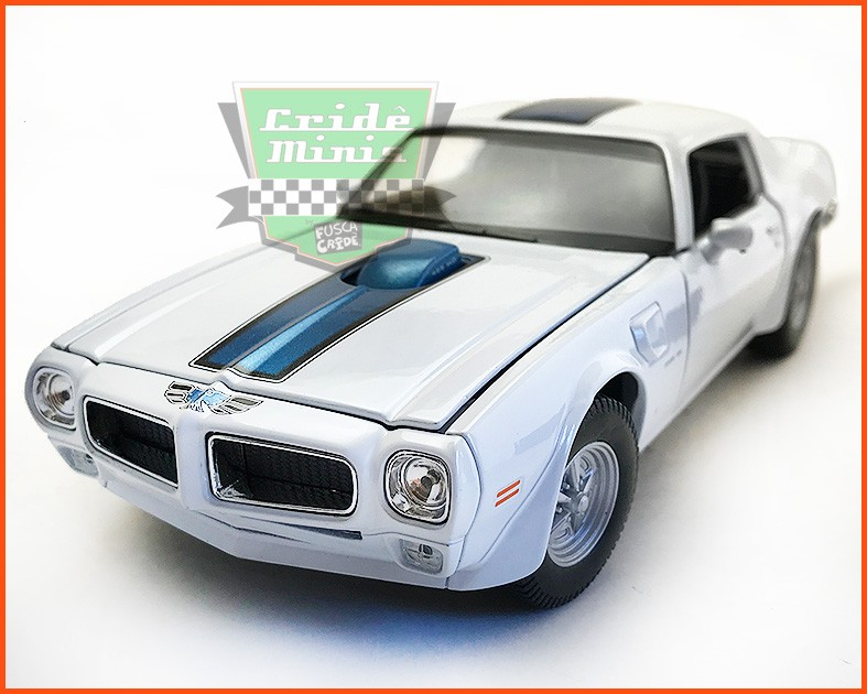 Pontiac Firebird TRANS AM 1972 White - escala 1/24