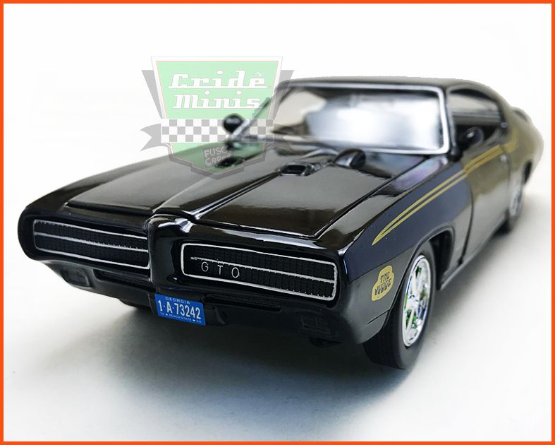 Pontiac Judge GTO 1969 Black - Escala 1/24