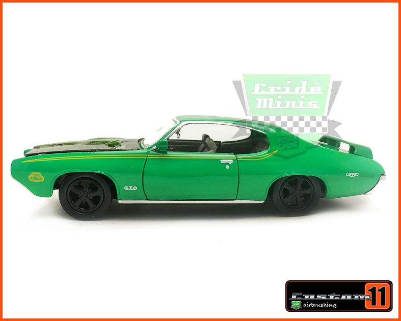 Pontiac Judge GTO 1969 Coringa Customizado Peça única - Escala 1/24
