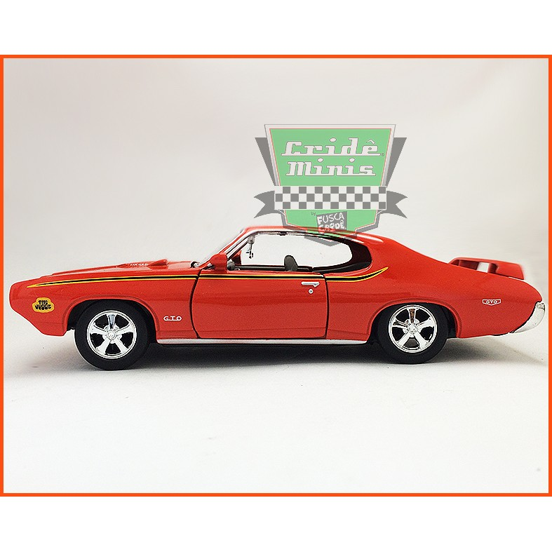 Pontiac Judge GTO 1969 - Escala 1/24
