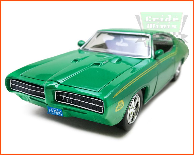 Pontiac Judge GTO 1969 Verde - Escala 1/24