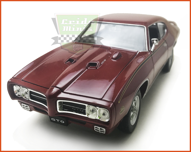 Pontiac Judge GTO 1969 Vinho - Escala 1/24