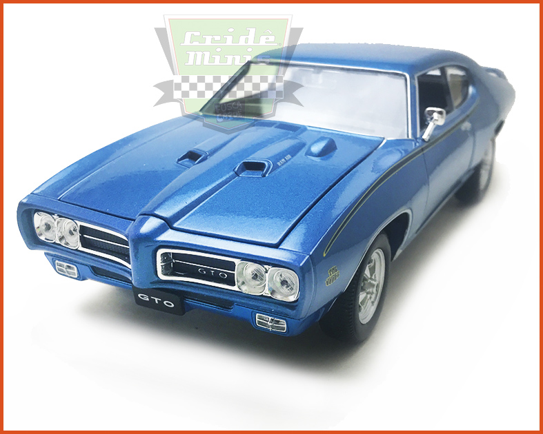 Pontiac Judge GTO 1969 Azul - Escala 1/24