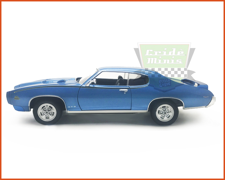 Pontiac Judge GTO 1969 Azul - Escala 1/24