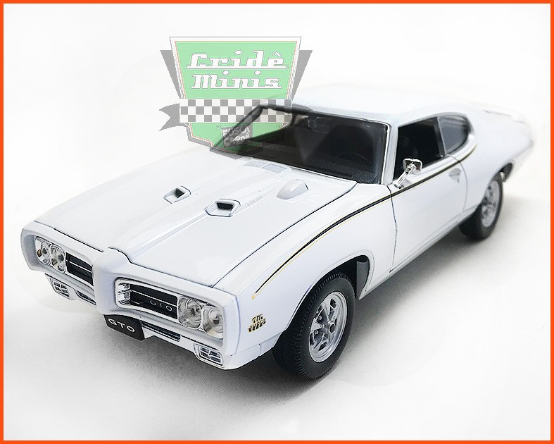 Pontiac Judge GTO 1969 White - Escala 1/24