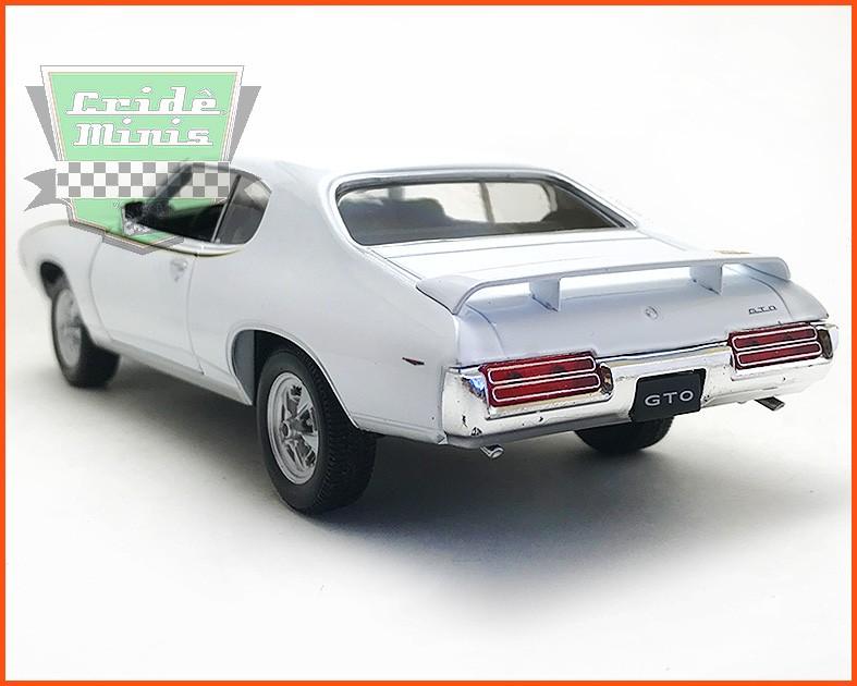Pontiac Judge GTO 1969 White - Escala 1/24