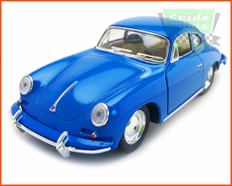 Porsche Carrera 356 Blue - escala 1/32