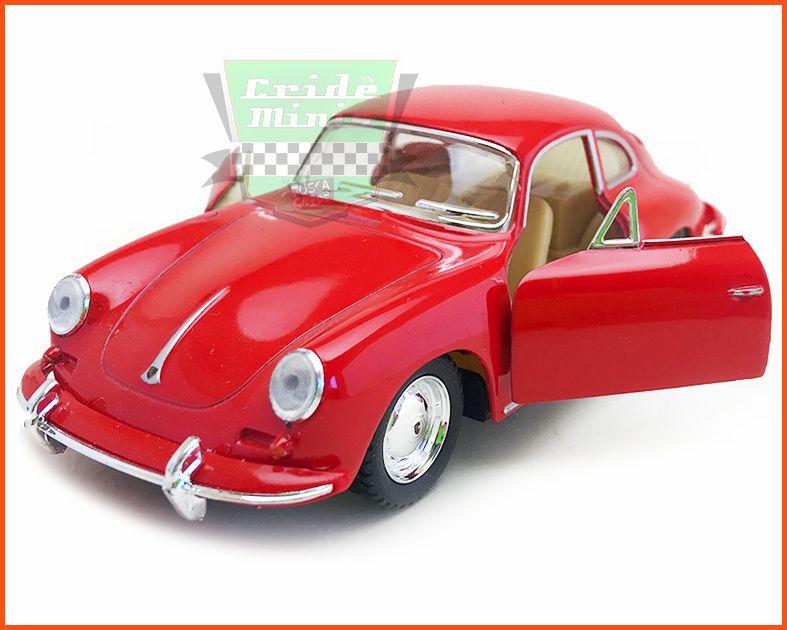 Porsche Carrera 356 com Caixa Customizada - escala 1/32