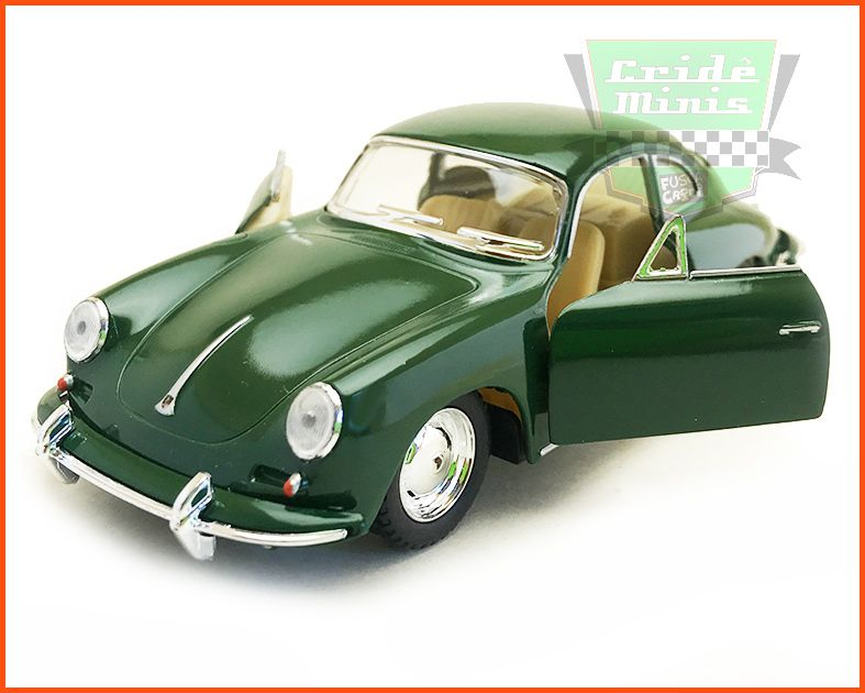 Porsche Carrera 356 Green - escala 1/32