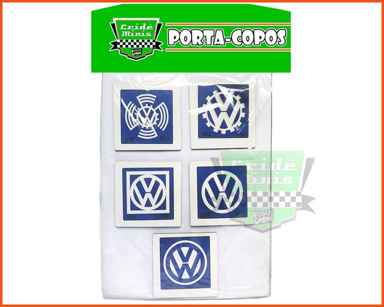Porta Copos VW Vintage Artesanal