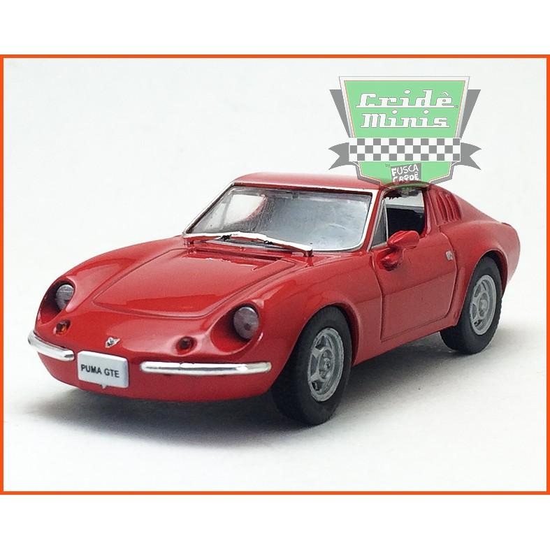 Puma GTE Coupe 1973 - Carros Nacionais - escala 1/43
