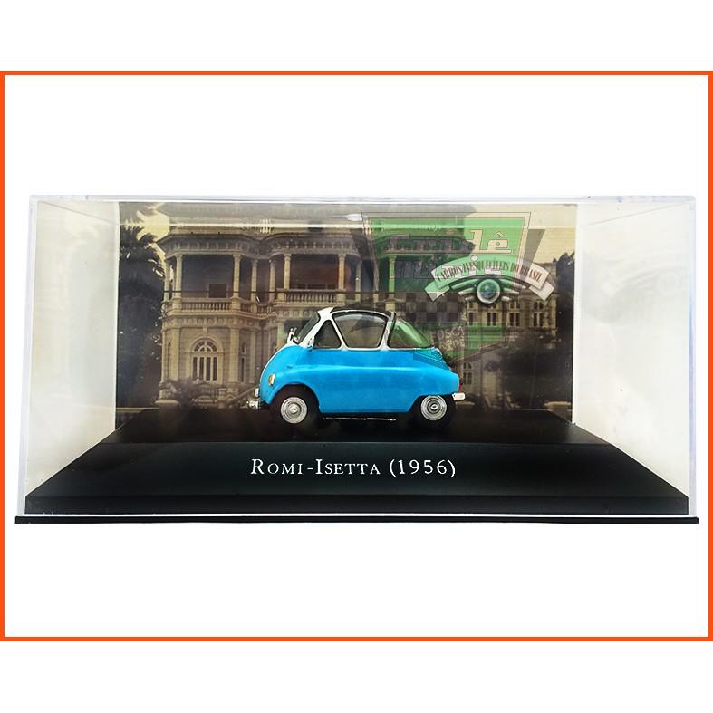 Romi -Isetta 1956 - Carros Nacionais - escala 1/43