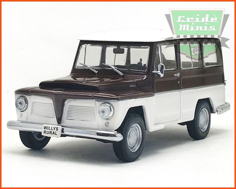 Rural Willys 1968 - Caixa de acrílico - escala 1/43