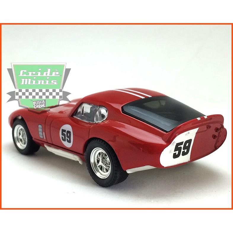 Shelby Cobra Daytona Coupe 1965 - Caixa de acrílico - escala 1/43