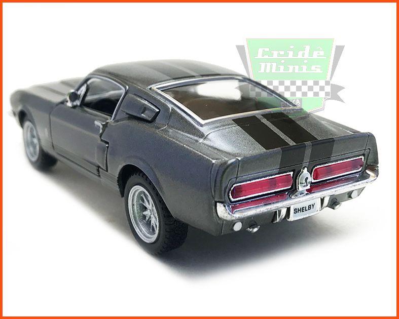 Shelby GT500 1967 com caixa Customizada - escala 1/38